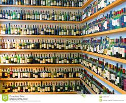 Wine Bottle Storage Angle Wine Bottles On Shelves Editorial Stock Photo Image 39626078