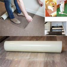 carpet protector film. 24\u0027\u0027 x 400\u0027\u0027 plastic clear carpet protector mat cover bedroom protection film