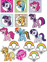 Small Picture Free My Little Pony Party Printables invitations table