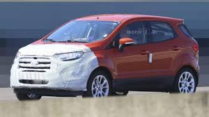 new car launches fordFigure or the first half of 2017 launched Ford new wing spy photos