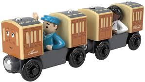 thomas the tank friends wooden railway annie clarabel