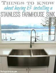 vigo farmhouse sink. Vigo Farmhouse Sink Things To Know About Buying Installing A Stainless Steel Style . Featured Item R