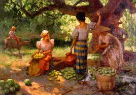 fernando amorsolo s mango pickers