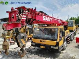 25 Ton Sino Mobile Crane Sany Qy25c For Sale 2012 Sany