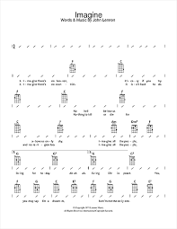 Ukulele Strumming Patterns Extraordinary Imagine Sheet Music By John Lennon Ukulele With Strumming Patterns