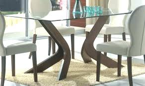 base for glass dining table dining table bases for glass tops awesome round wood table bases