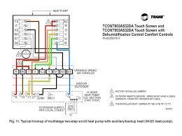 trane heat pump thermostat wiring diagram 7 wire heat pump thermostat at Heat Pump Thermostat Wiring Diagrams
