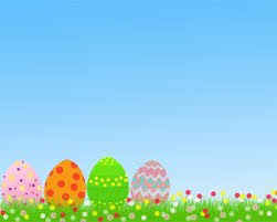Spring Powerpoint Background Easter Free Powerpoint Template Ppt Template Cute