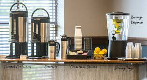 A tutorial of how to present tea and coffee to a guest and also how to set up a room service tray. Three Easy Coffee Station Setups