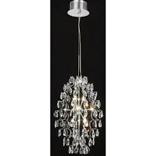 interval 12 light crystal chandelier in polished chrome with cut glass lead crystals teardrop embellishment