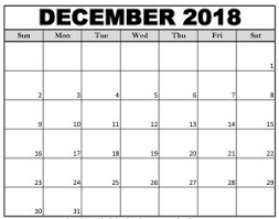 December Calendar Excel December 2018 Calendar Excel Business Calendar Templates