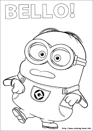 Small Picture Cute Minion Coloring Pages Coloring Coloring Pages