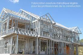 maison kit ossature metallique nouveau baÜhu maison ossature métallique légère modulaire en kit