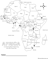 Small Picture African Countries Coloring Book Cover page EnchantedLearningcom