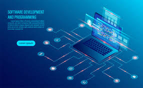 Business Analysis Software Free Download Software Development Coding And Business Analysis Vector