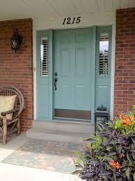 painting front doorPainting Exterior Door Trim  Home Design