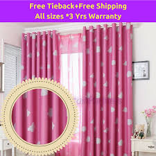Blackout-pink-clouds-drapes-sheer-curtain-in-eyelet-