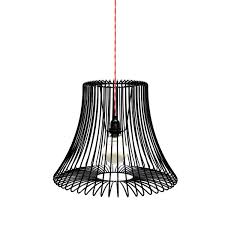 ... Pendant lamp / traditional / steel / compact fluorescent WIRE Deadgood  ...