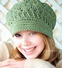 Free Crochet Hat Pattern Amazing Crochet Hat Pattern Womens Newsboy Hat Slouchy Hat Slouch Beanie