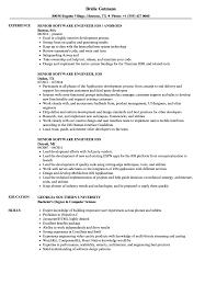 Senior Software Engineer Ios Resume Samples Velvet Jobs