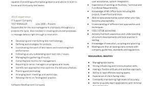 Resume Header Examples Example Of A One Page Resume Examples Of Two