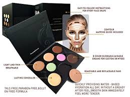 youngfocus cosmetics cream contour best 8 colors contouring foundation highlighting makeup kit concealer palette vegan free and hypoallergenic