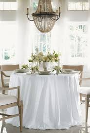 square tablecloths fit both square or round tables