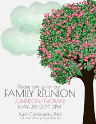 Family Reunion Flyers Templates 200 Family Reunion Customizable Design Templates Postermywall