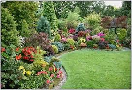 Exterior Cool Design Beautiful Garden Landscapes Ideas Charming Colorful  Sweet Backyard Landscape. christmas home decor
