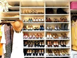 hanging closet shoe organizer hanging closet shoe rack medium size of closet rack hanging new shoe