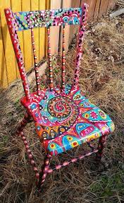 funky style furniture. Painted Recycled Chair By Karen Funky Style Furniture