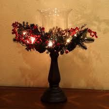 Party Light Hurricane Kanstar Hurricane Centerpiece Led Candle Holder For Christmas Thanksgiving Wedding And Party Bronze