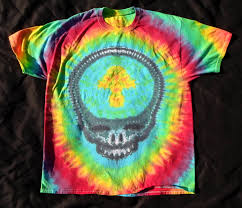 Advanced Tie Dye Patterns Amazing How To Tie Dye A Grateful Dead Steal Your Face YouTube