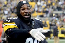 former pittsburgh steelers wide receiver cobi hamilton 83 celebrates his 26 yard touchdown pass to win the game 27 24 in sudden overtime against the