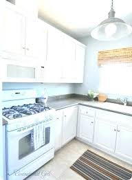 unforgettable white kitchen paint painted cabinet painting almond