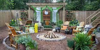 Easy Patio Decorating Easy Diy Backyard Patio Ideas Plus 2017 Savwicom