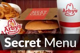 arby s secret menu