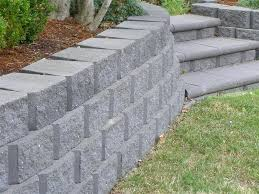 modern decoration retaining wall bricks garden blocks systems bq