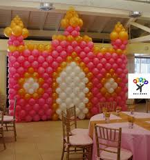 princess birthday party balloon decoration ideas archives credit