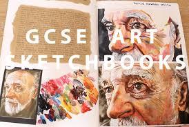 gcse art sketchbooks