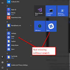 Microsoft Menu Windows Missing Icons For Trusted Microsoft Store Apps In Start