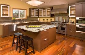 Asian Kitchen For Large Interior (Image 2 of 10)