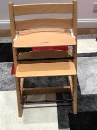 stokke tripp trapp chair natural wood
