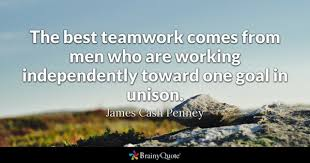 Motivational Quotes For Teamwork Interesting Teamwork Quotes BrainyQuote
