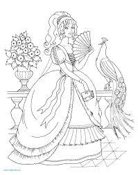 Coloriage D Une Princesse Inspirational Coloriage Princesse Sofia