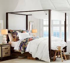 Pottery Barn Canopy Bed - Lilangels Furniture