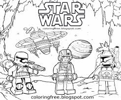 Lego Star Wars Coloring Pages 5 26703 Free Printable Coloring Pages