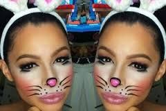 bunny costume makeup makeup ideas