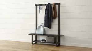 Hall Seat Coat Rack Storage bench with coat rack plus hallway seat and coat rack plus 39