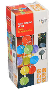 Lampion Snoer Led Solar 240cm Lampion Snoer Led Solar 240cm